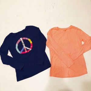 2-Girls long sleeve T-shirt
